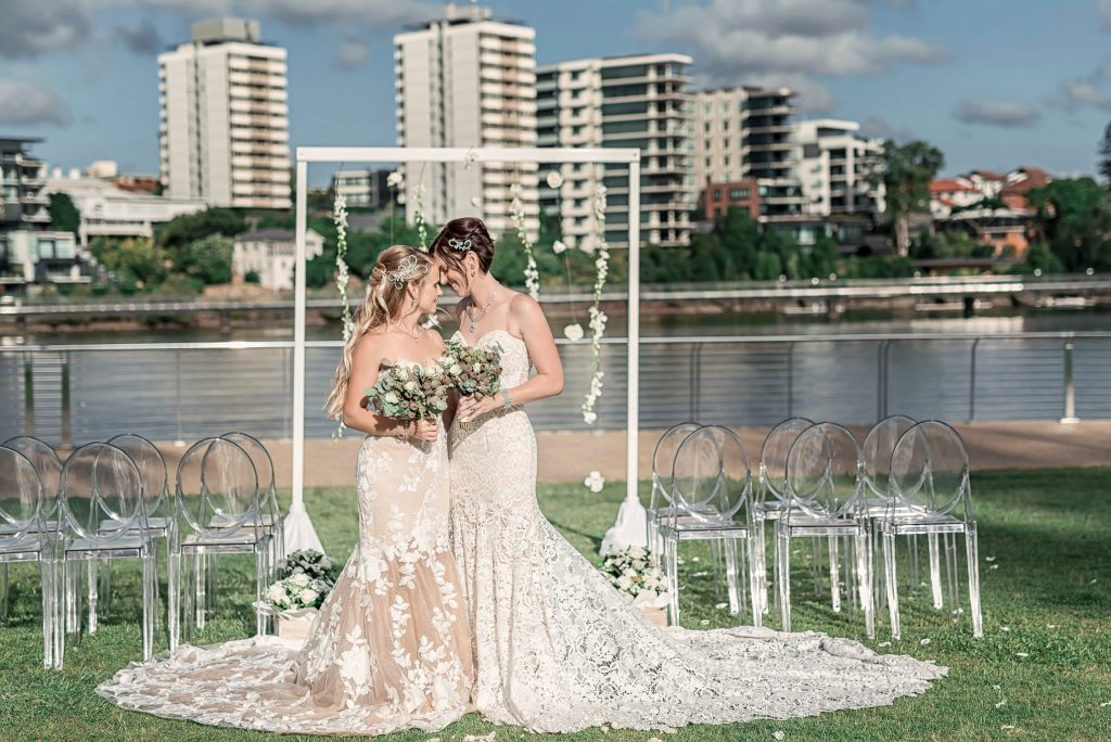 Brisbane Wedding Decorators Wedding ceremony same-sex