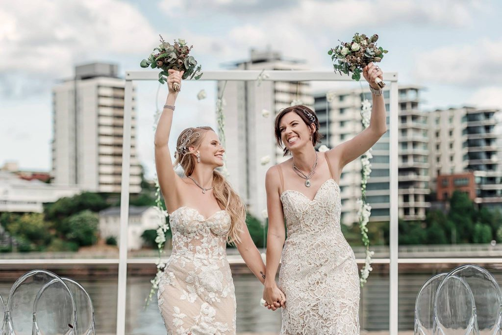 Brisbane Wedding Decorators same-sex wedding ceremony
