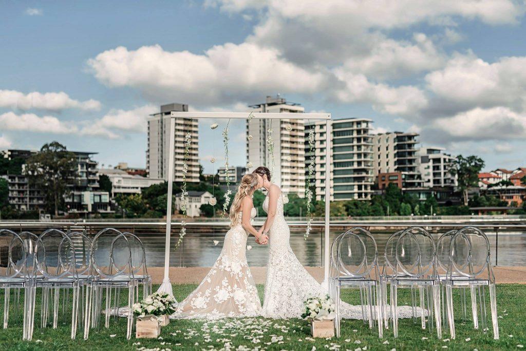 Wedding ceremony same-sex Brisbane