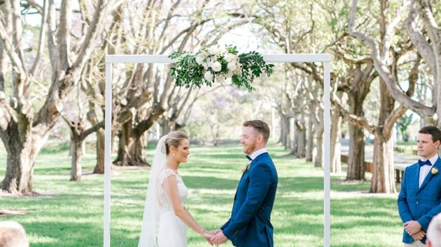 elegant Brisbane Wedding
