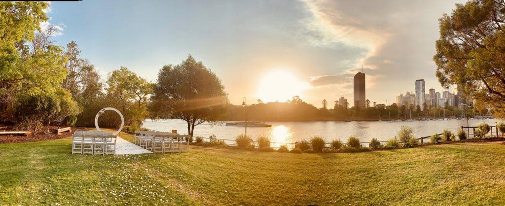 wedding ceremony setup Brisbane