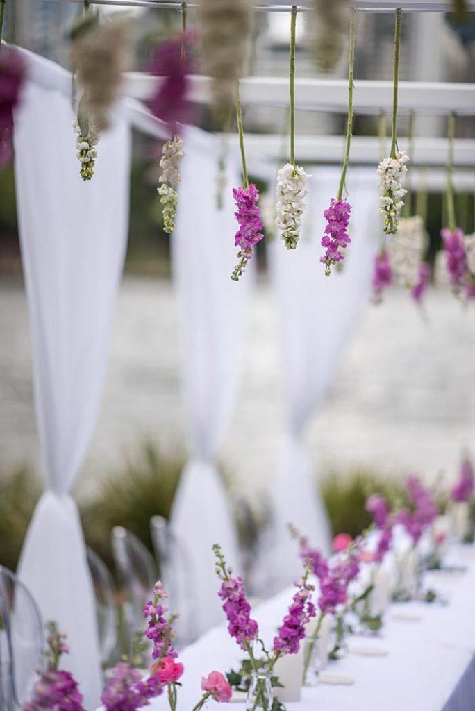 Brisbane outdoor wedding setup