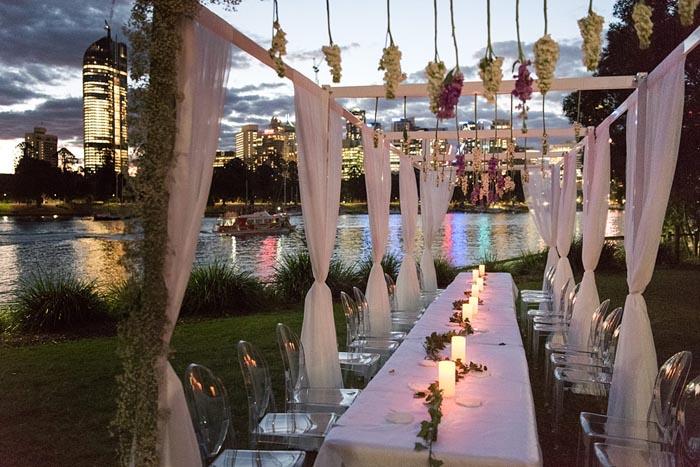 Brisbane sunset wedding