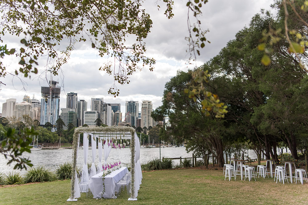 Brisbane Wedding Arbour Hire