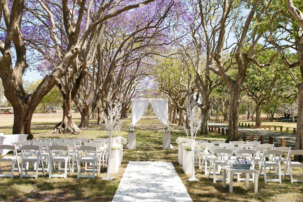 Brisbane Wedding Decorators Ceremony Set Up