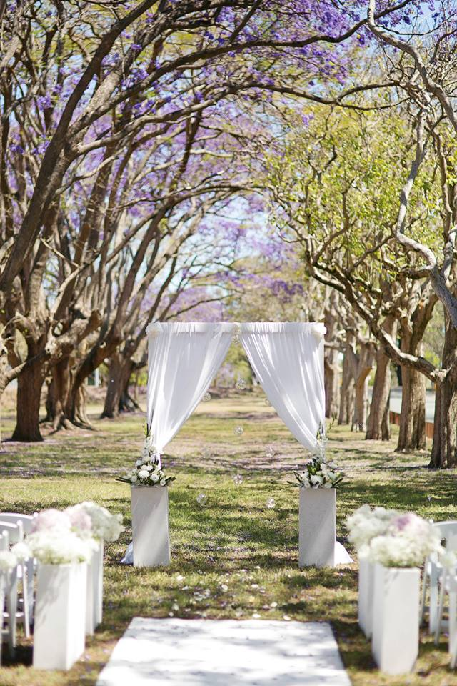 Brisbane Wedding Decorators Ceremony Set Up