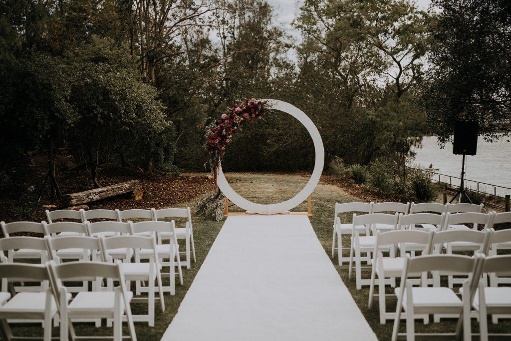 Brisbane City wedding decor