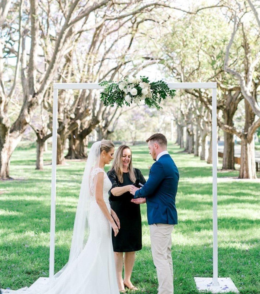 Brisbane wedding ceremony setup