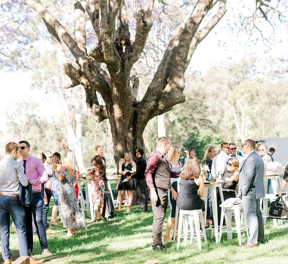 Brisbane wedding cocktail furniture