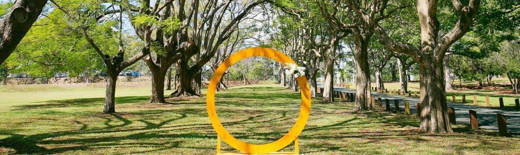 Circular Wedding arbour