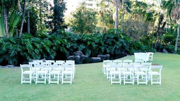 City Botanic gardens Brisbane wedding