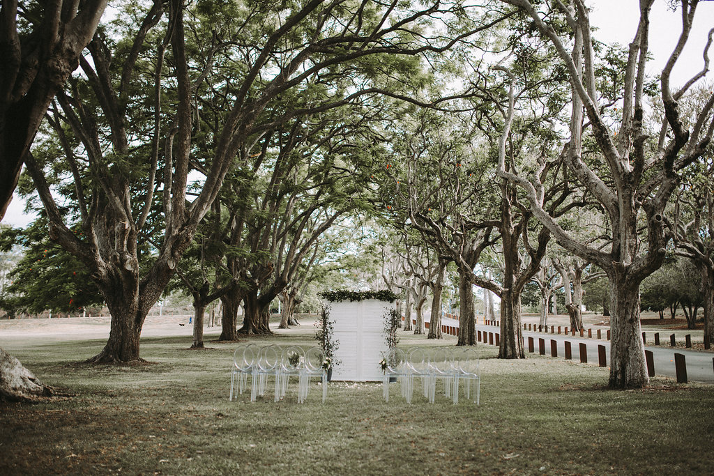 Colsmlie Beach Reserve Wedding Brisbane