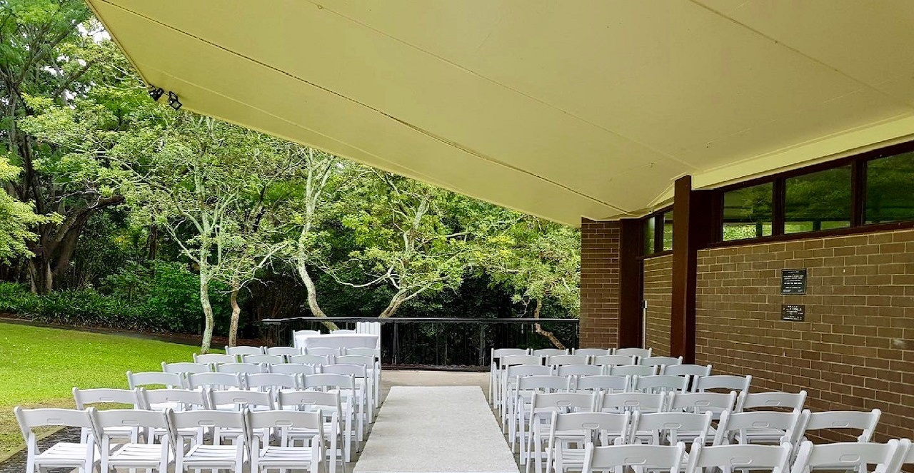 Mt Coot-tha wet weather wedding location