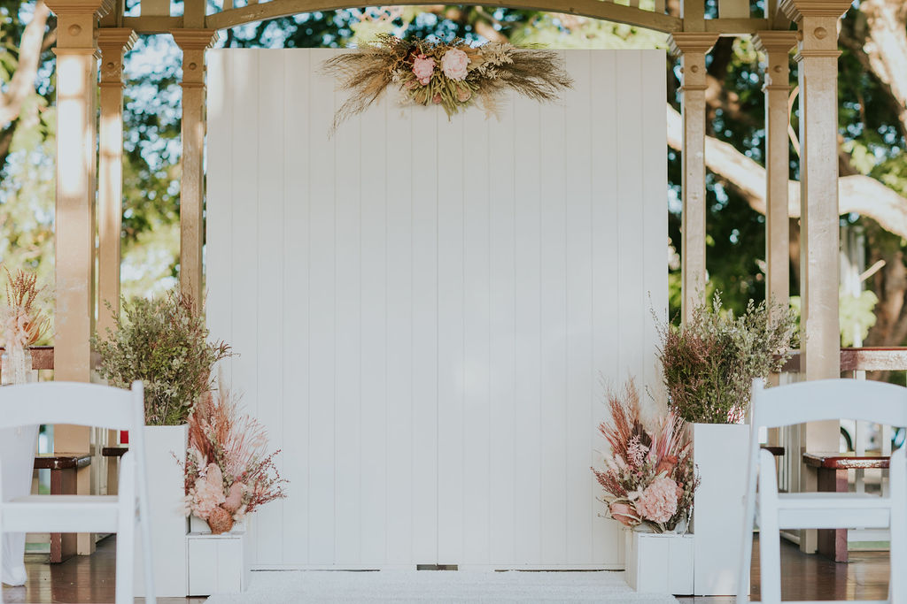 New Farm Park Rotunda wedding