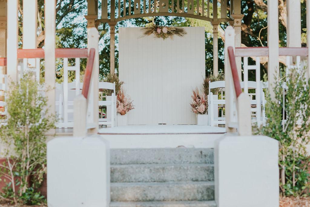 New Farm Park Rotunda weddings