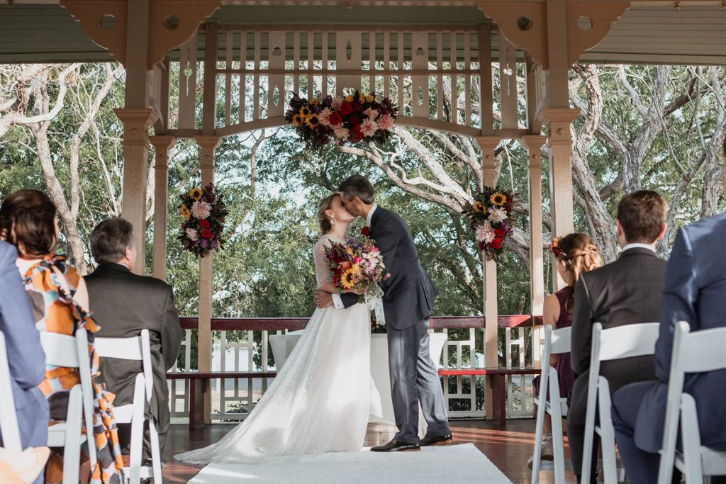 New Farm Park Rotunda wedding styling