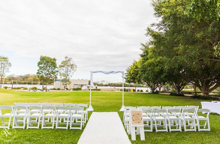 Brisbane wedding arch styling hire