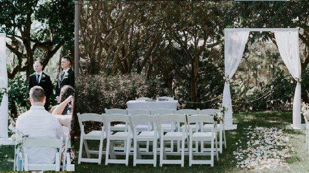 Roma Street Parkland wedding