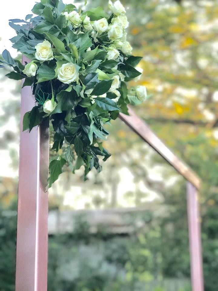 Rose Gold wedding styling