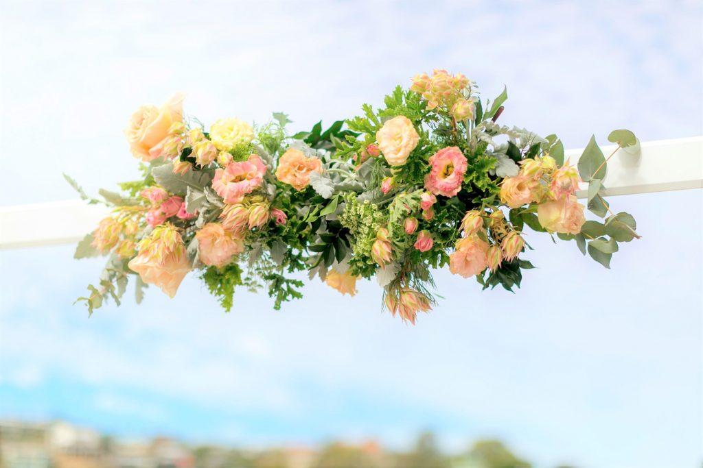Wedding Arbour Flowers