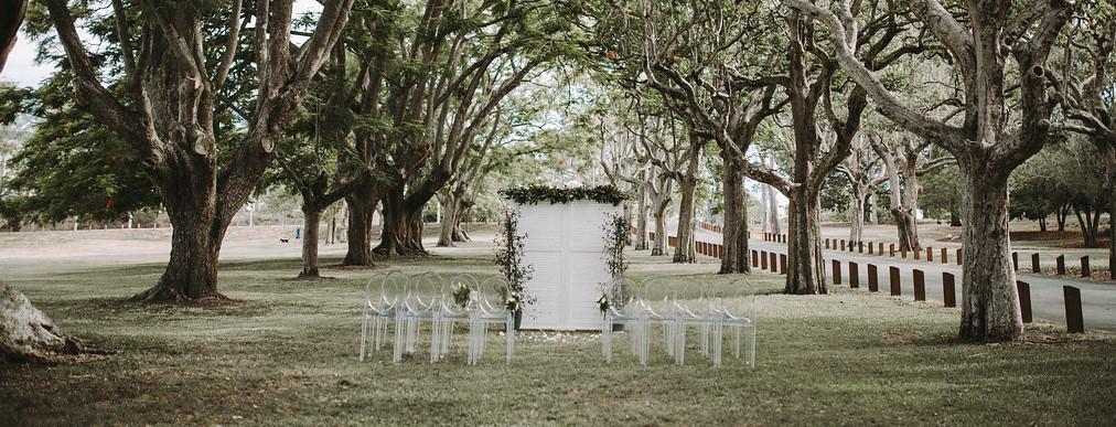 Wedding Backdrop Hamptons Style