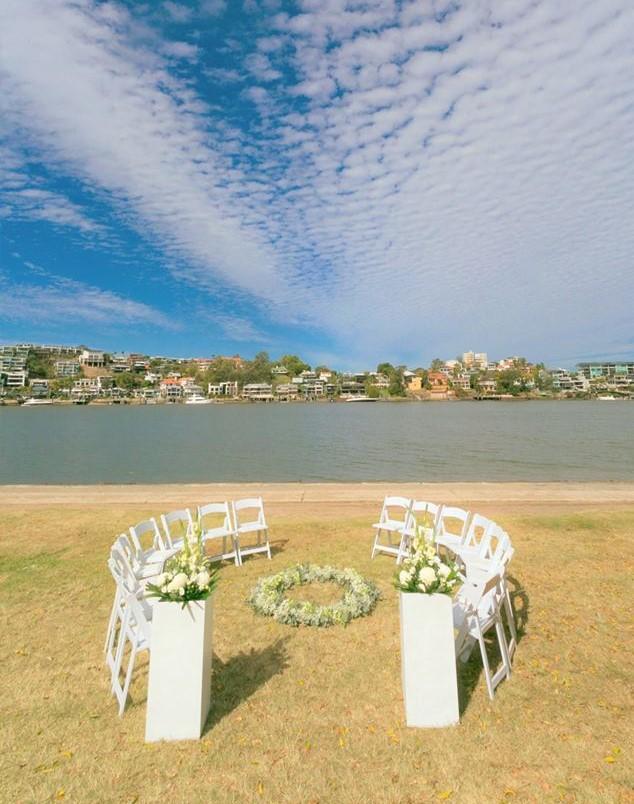 Wedding Chair Hire new farm park ceremony