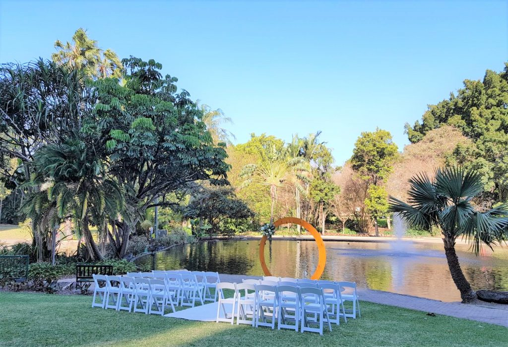 Wedding ceremony hire Brisbane