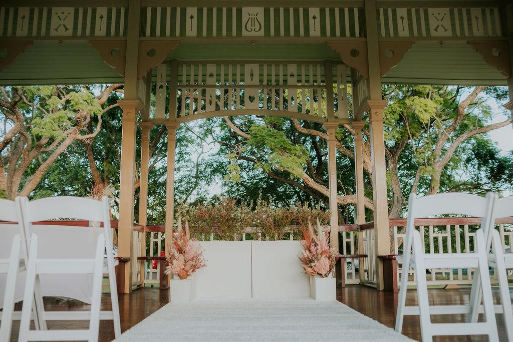 Wedding decoration New Farm Rotunda