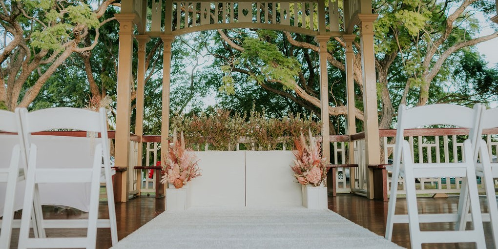 Wedding decorations New Farm Rotunda