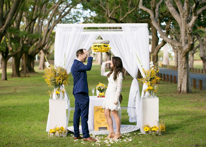 wedding arch Brisbane