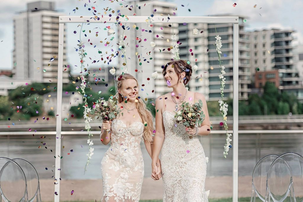 Brisbane Wedding Decorators same-sex wedding