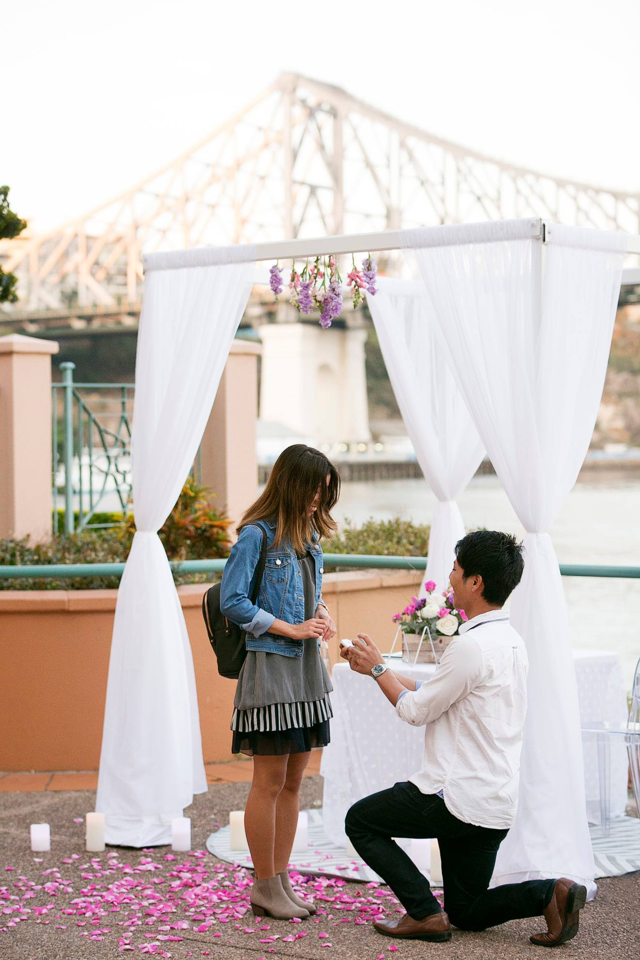 Brisbane marriage proposal ideas