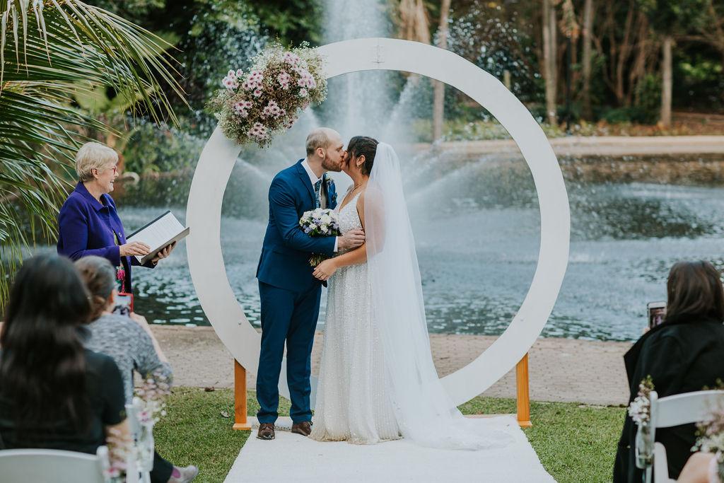 circle wedding arbour Brisbane