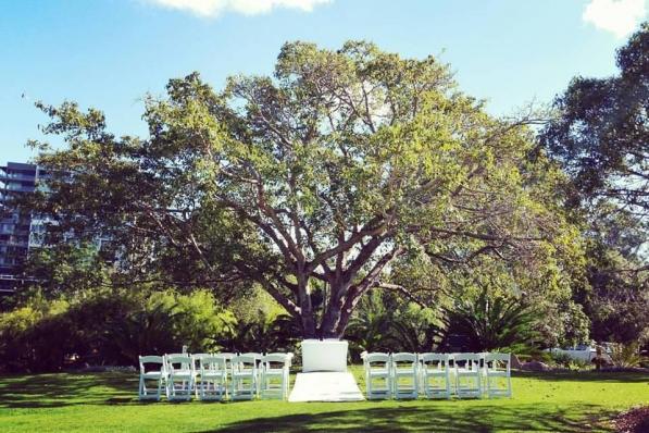 City Saddle View Wedding decor hire