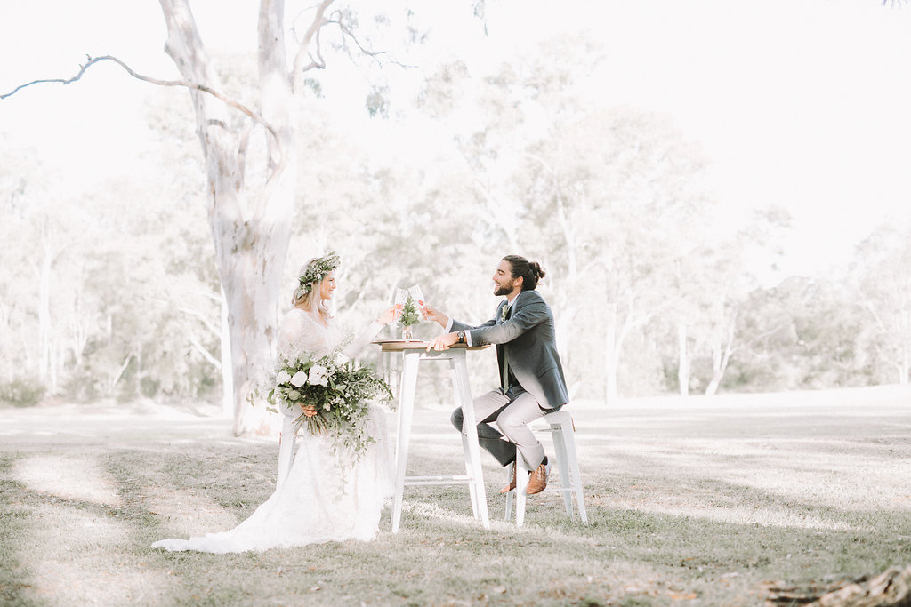 greenery styled wedding