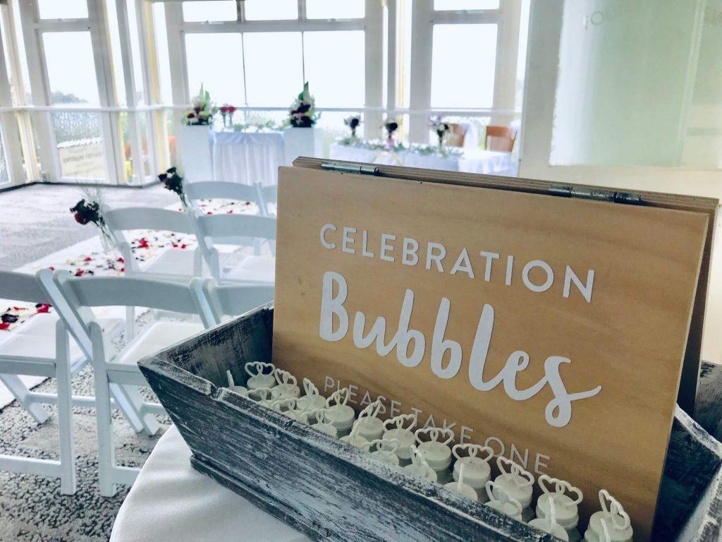 Indoor wedding at Summit Restaurant Brisbane