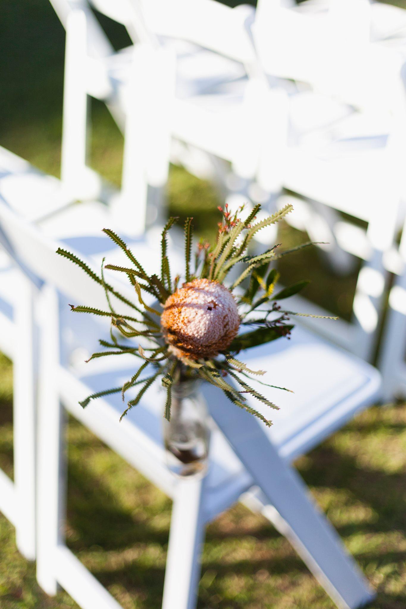 Native flowers wedding