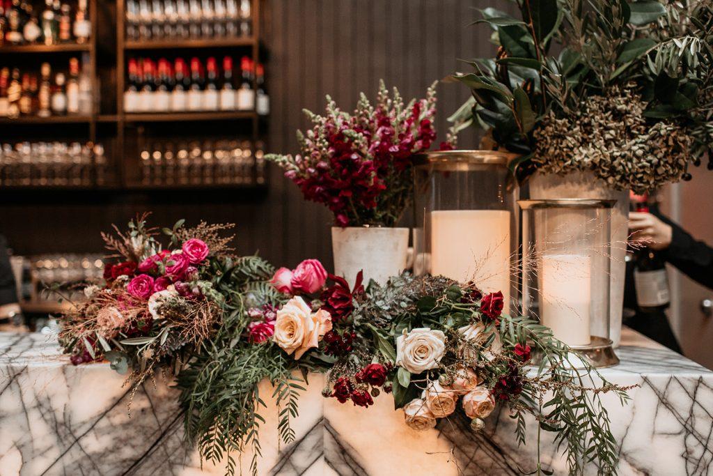 repurposed wedding flowers