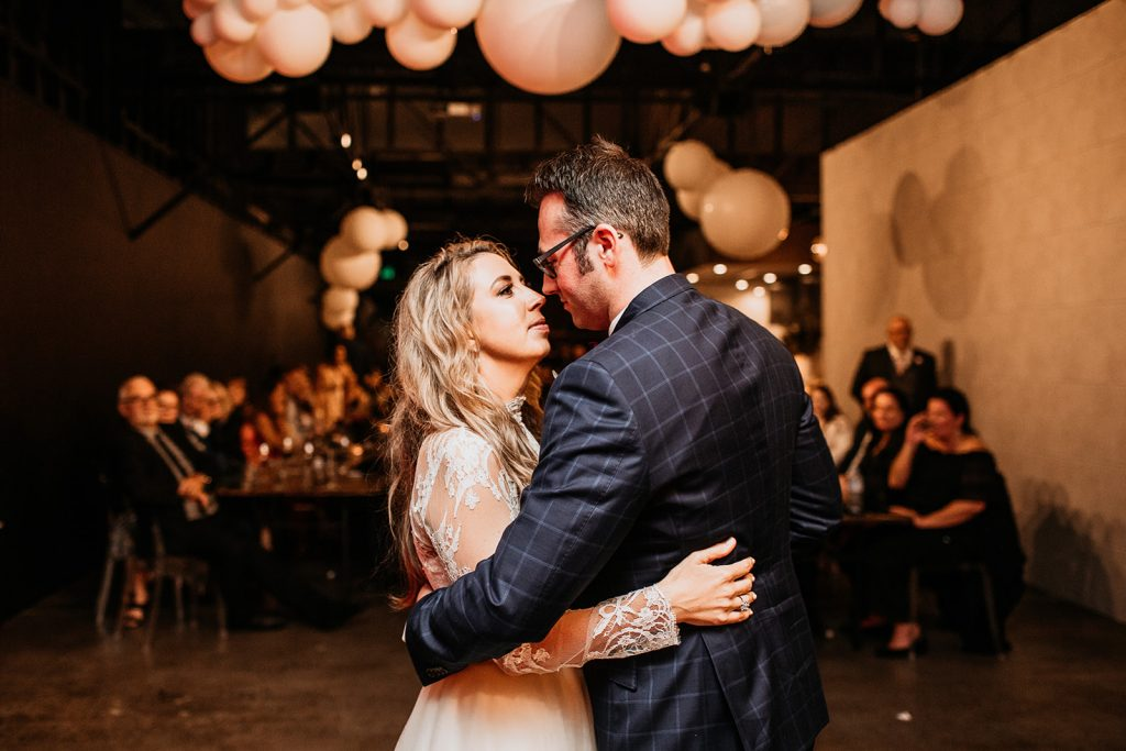 Refinery wedding reception