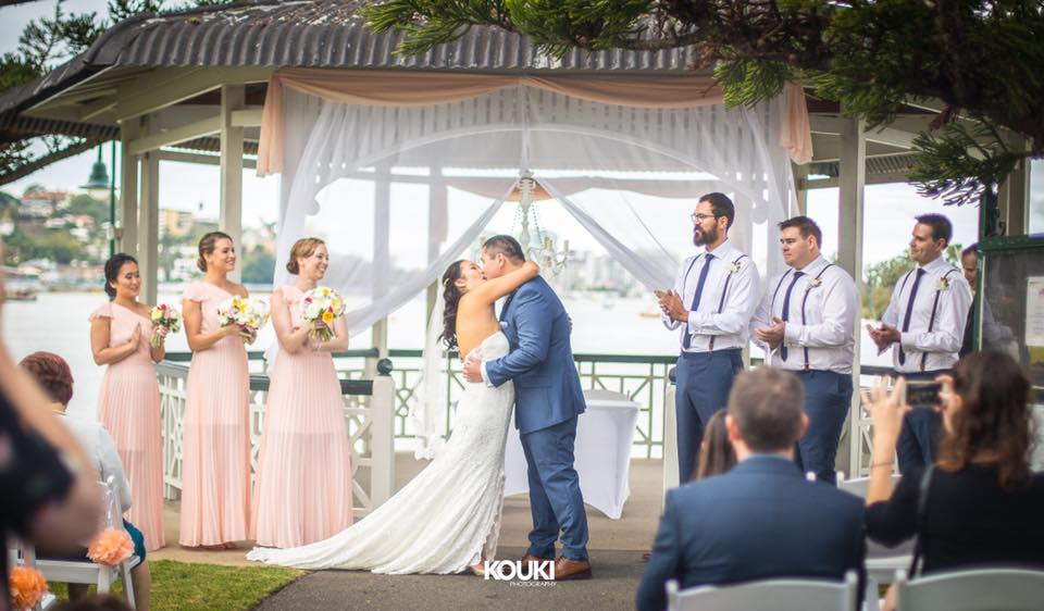 Newstead Rotunda Wedding Decor