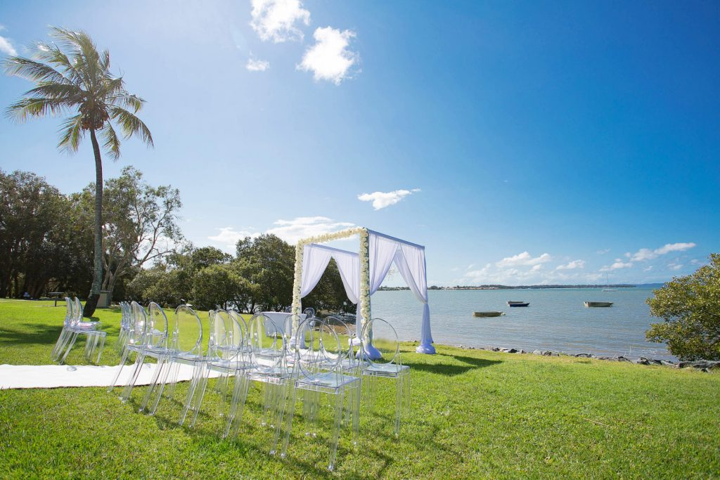 Redland Bay wedding decor