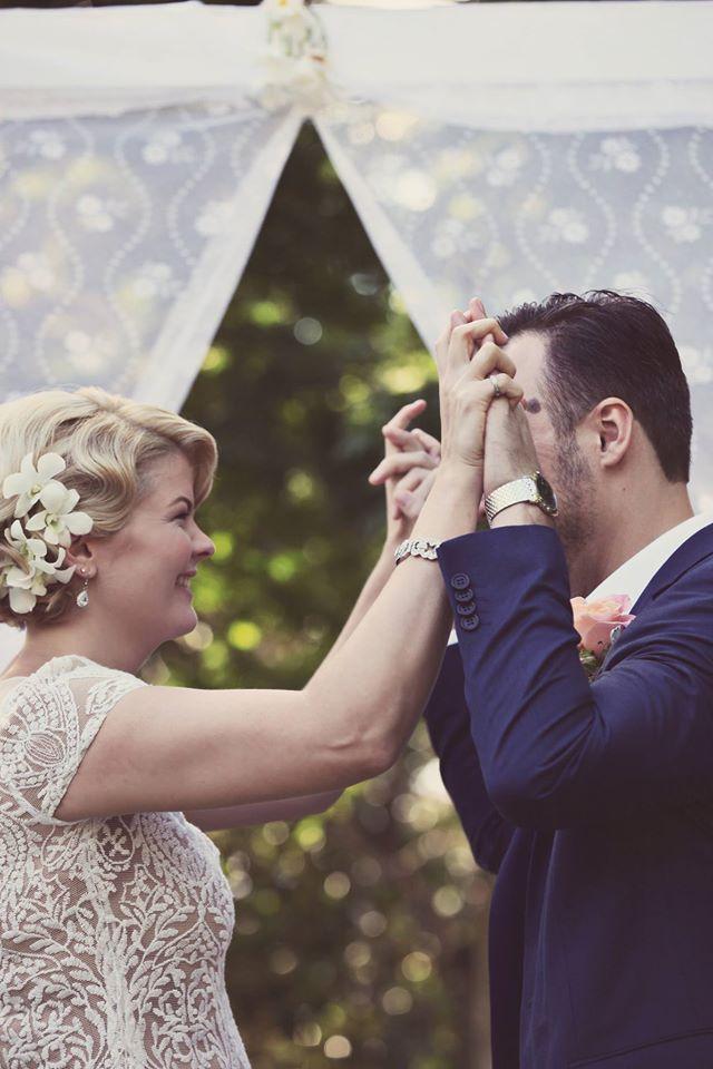 Roma Street Parklands wedding ceremony