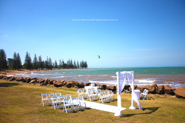 Scarborough Beach QLD wedding