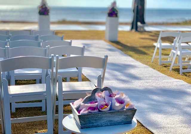 Scarborough beach wedding