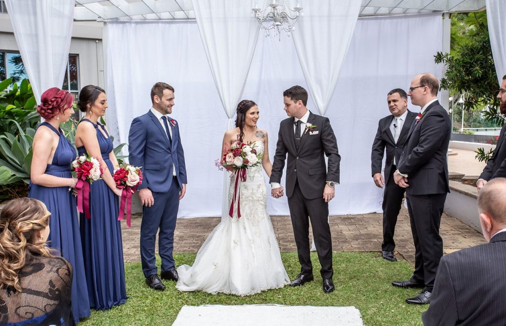 Stamford Plaza Brisbane Wedding ceremony