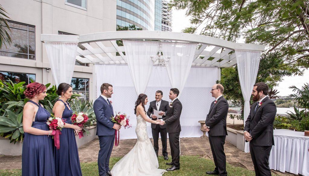 Stamford Plaza Wedding Ceremony set up