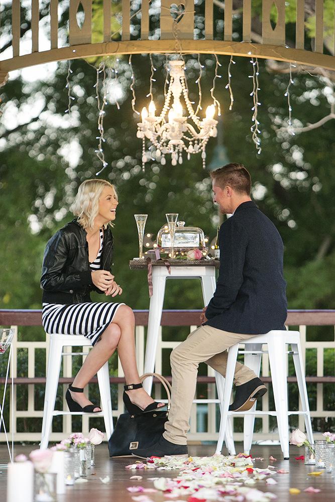 Surprise marriage proposal Brisbane