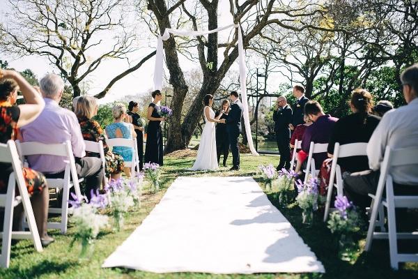 UQ Schonell Wedding ceremony