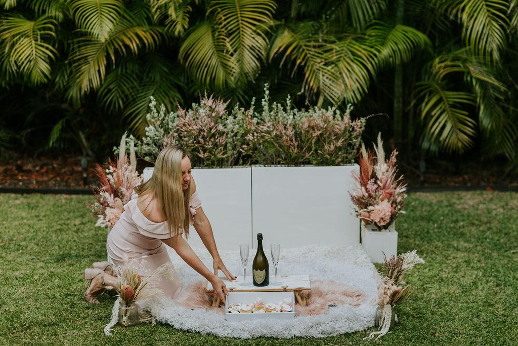picnic proposal setting