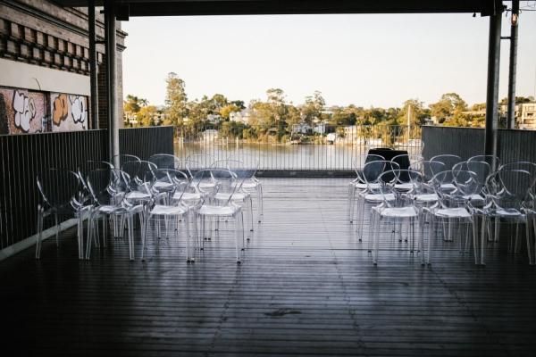 clear ghost chair hire Brisbane